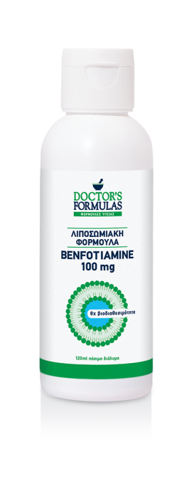 Doctors Formulas Λιποσωμιακή Φόρμουλα Benfotiamine 100 mg 120 ml