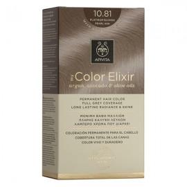 Apivita My Color Elixir Βαφή Μαλλιών 10.81 Κατάξανθο Περλέ Σαντρέ