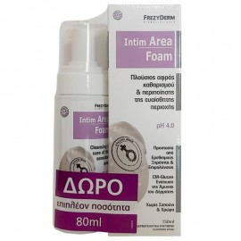 Frezyderm Intim Area Foam ph 4.0, 150ml & Δώρο 80ml