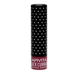 Apivita Black Currant Lip Care με Φραγκοστάφυλο,Μπορντό Φυσικό Χρώμα 4.4gr