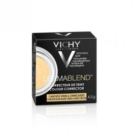 Vichy Dermablend Colour Corrector Yellow camouflages bluish veins & dark circles 4.5 gr