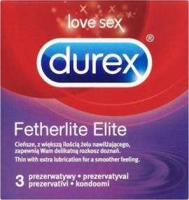Durex Fetherlite Elite Προφυλακτικά x 3