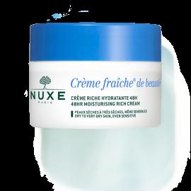 Nuxe Creme Fraiche de Beaute Creme Riche Hydratante 48H 50 ml