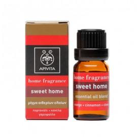 Apivita Essential Oil Sweet Home Μίγμα Αιθερίων Ελαίων με Πορτοκάλι, Κανέλλα & Γαρύφαλο 10ml