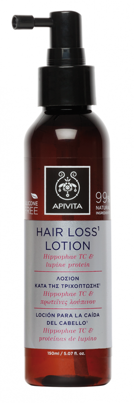Apivita Hair Loss Lotion Hippophae TC & Πρωτείνες Λούπινου 150ml