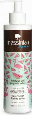 Messinian Spa Shower Gel Watermelon & Shea Butter 300ml