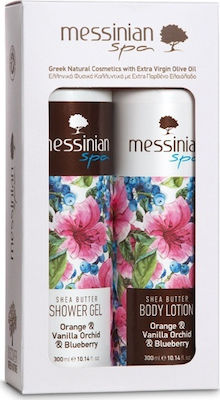 Messinian Spa Orange, Vanilla Orchid & Blueberry Set