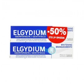 Elgydium Whitening toothpaste 2 x 100 ml