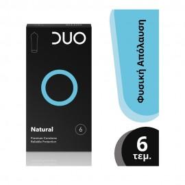 DUO Premium Natural Προφυλακτικά 6τμχ