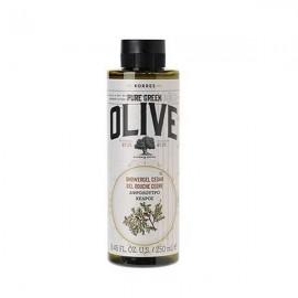 Korres Pure Greek Olive Αφρόλουτρο Κέδρος 250 ml