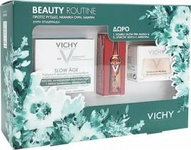 Vichy Promo Slow Age Cream Spf30 50 ml & Double Glow Peel Mask 15 ml & Liftactiv Glyco - C Αμπούλα Νύχτας 2 ml