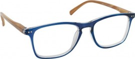 Eyelead Γυαλιά Διαβάσματος Unisex Μπλε Κοκκάλινο με Ξύλινο Βραχίονα E212