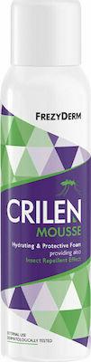 Frezyderm Crilen Protective Mousse, Ενυδατικός Εντομοαπωθητικός Αφρός, 150ml