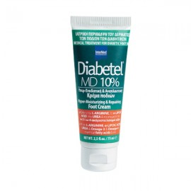 Intermed Diabetel MD 10% Ενυδατική Κρέμα Ποδιών, Κατάλληλη για Διαβητικούς 75ml