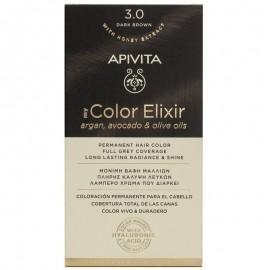 Apivita My Color Elixir Μόνιμη Βαφή Μαλλιών No 3.0 Καστανό Σκούρο