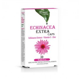 Power Health Echinacea Extra - Vitamin C- Zinc 30 κάψουλες