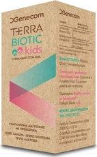 Genecom Terra Biotic Kids Drops Προβιοτικές Σταγόνες για Παιδιά Χωρίς Γλουτένη, Ζάχαρη, Λακτόζη, 5ml