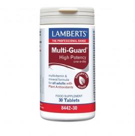 Lamberts Multi Guard Πολυβιταμινούχο Σκεύασμα Υψηλής Δραστικότητας 30 Tablets