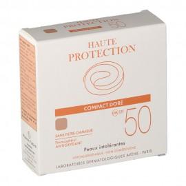 Avene Soins Solaires Compact Teinté SPF50+ Dore, Αντιηλιακό Make-up 10gr