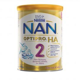 Nestle Nan Optipro HA 2 Γάλα 2ης Βρεφικής Ηλικίας σε Σκόνη από τον 6ο Μήνα 400gr