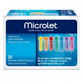Ascensia Microlet Lancets 25τμχ