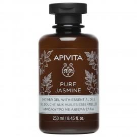Apivita Pure Jasmine Shower Gel with essential oils 250 ml