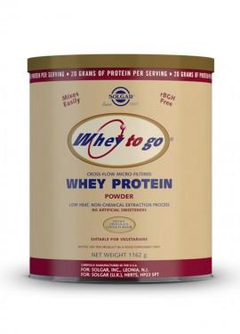 Solgar Whey To Go Protein chocolate powder 1162 gr