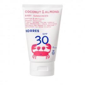 Korres Coconut & Almond Baby Sunscreen SPF30 100 ml