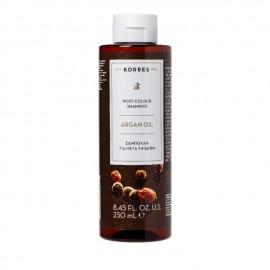 Korres Argan Oil Post-Colour Shampoo Σαμπουάν για Μετά τη Βαφή 200ml