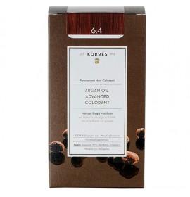 Korres Βαφή Argan Oil Advanced Colorant 6.4 Ξανθό Σκούρο Χάλκινο