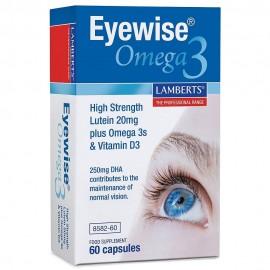 Lamberts Eyewise Omega 3, Συμπλήρωμα Διατροφής για την Καλή Υγεία των Ματιών 60Caps