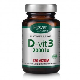Power Health Classics Platinum Range D-Vit 3 2000iu 120 ταμπλέτες