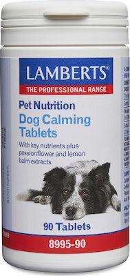 Lamberts Pet Nutrition Dog Calming, Συμπληρωματική Ζωοτροφή για Σκύλους 90Tabs