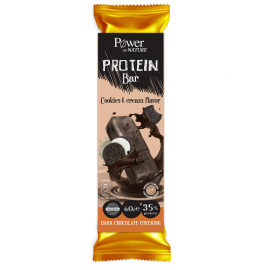 Power of Nature Protein Bar Cookies & Cream 60 gr