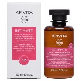 Apivita Intimate Plus cleansing gel tea tree & propolis 200 ml