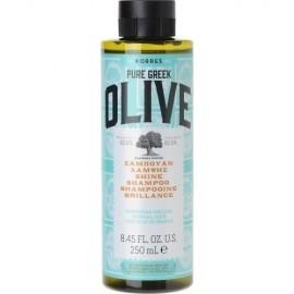 Korres Pure Greek Olive Σαμπουάν Λάμψης Για Κανονικά Μαλλιά 250 ml