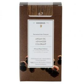 Korres Βαφή Argan Oil Advanced Colorant 6.7 Κακάο