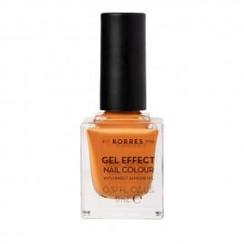 Korres Gel Effect Nail Colour 92 Mustard 11 ml