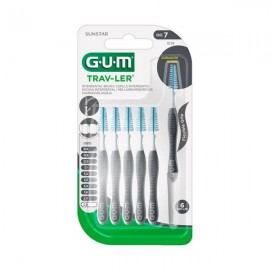 Gum Μεσοδόντια Βουρτσάκια Trav-Ler Antibacterial 1619 2.6 mm 6 τμχ