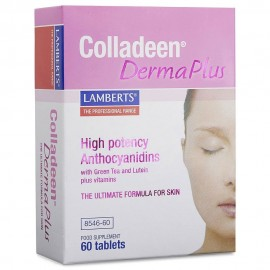 Lamberts Colladeen® Derma Plus Κολλαγόνο, Ανθοκυανιδίνες για Μαλλιά, Νύχια & Δέρμα 60 Ταμπλέτες