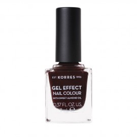 Korres Gel Effect Nail Colour With Sweet Almond Oil No.54 Festive Red 11ml