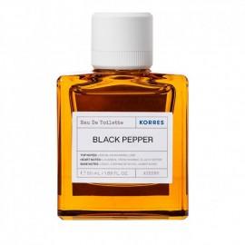 Korres Black Pepper Eau De Toilette 50 ml