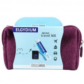 Elgydium Dental Travel Kit Μπορντω