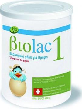 Βιοkid Γάλα σε Σκόνη βιοlac 1 0m+ 400gr