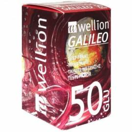 Wellion Galileo Ταινίες Μέτρησης Σακχάρου 50 τεμ