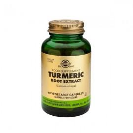 Solgar Turmeric Root Extract Προστασία Ήπατος 60 Capsules