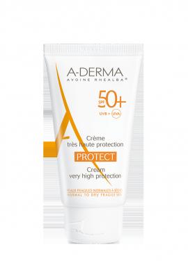 A-Derma Protect Cream Fragrance Free SPF50+ 40 ml