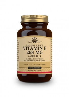 Solgar Vitamin E 268mg (400IU) 100 Softgels