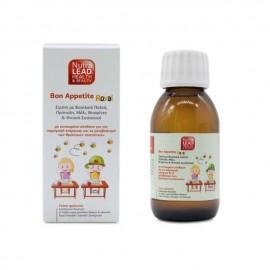 Nutralead Bon Appetite Royal Kids, Παιδικό Σιρόπι με για Παραγωγή Ενέργειας και Μεταβολισμό των Θρεπτικών Συστατικών 100ml