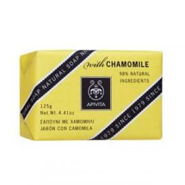 Apivita Natural Soap Chamomile 125 gr